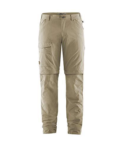 Fjallraven Herren Sport Trousers Travellers MT Zip-Off TRS M, Light Beige, 54, 84755