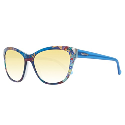 Guess Sonnenbrille Gu7398 92C 55 Gafas de sol, Azul (Blau), 55.0 para Mujer