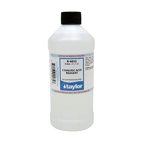 Taylor Technologies Inc R-0013-E ÁCIDO CIANURICO 16 oz