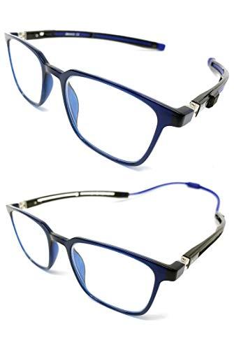 New Model 2021 TR90 EXTENSIBLE Gafas de lectura. IMAN extensible unisex Venice,...