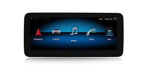 Android Navigationsgerät für Mercedes A-Klasse W176 GLA Klasse X156 CLA-Klasse W117 2013-2015 NTG 4.5 GPS WI-FI Bluetooth MirrorLink 3GB RAM 32GB ROM