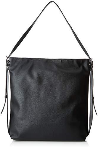 ESPRIT Accessoires Damen 128ea1o007 Schultertasche Schwarz (Black)