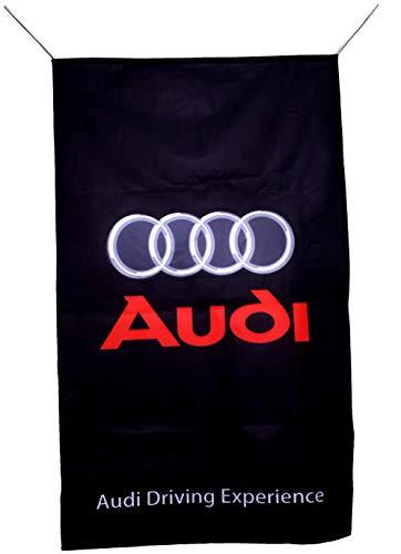 AU-DI Flagge, vertikal, 152 x 91 cm