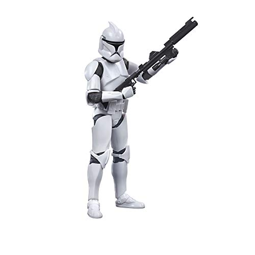 STAR WARS The Black Series Phase I Clone Trooper Toy 6-Inch Scale The Clone Wars Collectible Action Figure, Kids Ages 4 and Up
