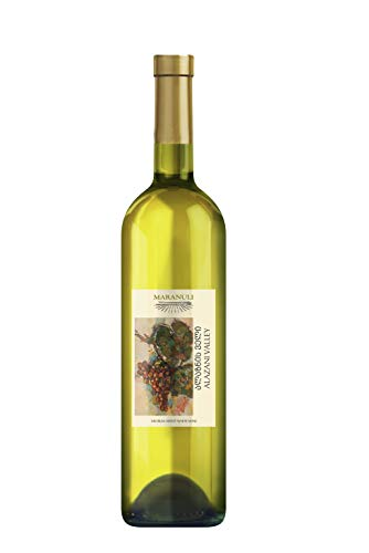 web Georgischer Wein Maranuli ALAZANIS VALLEY, weiß halbsüß, aus autochthone Rebsorte Rkatsiteli