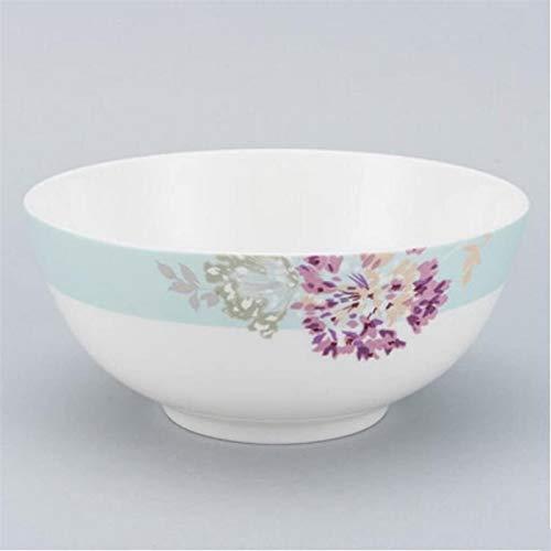 XUEXIU Creativo 9 Pollici Bone China Big Soup Zuppiera Bacino Casa per Perfetto Pranzo e casa