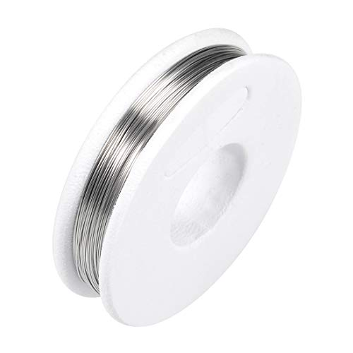 uxcell 0.25mm 30AWG Heating Resistor Wire Wrapping Nichrome Resistance Wires for Heating Elements 33ft