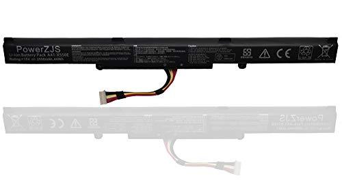 ZJS A41-X550E Batterie pour ASUS A450J A450JF X450J X450JF K550E K550DP K550d X550e X550z X550za X751m X750j X750ja [15V / 2950mAh] (A41-X550e-LMT)