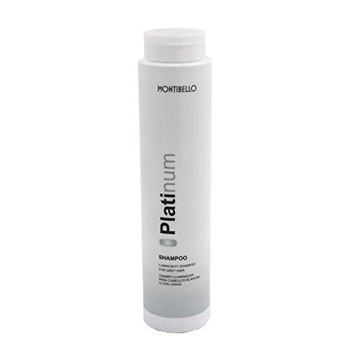 Montibel-Lo Platinum, Champú para Canas, 300 ml