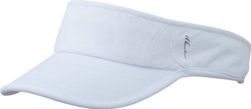 Myrtle Beach Uni Cap Running Sunvisor, white/white, One size, MB6545 whwh
