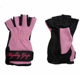 Pole Dance Handschuhe von Mighty Grip (klein, nicht klebrig, pink)