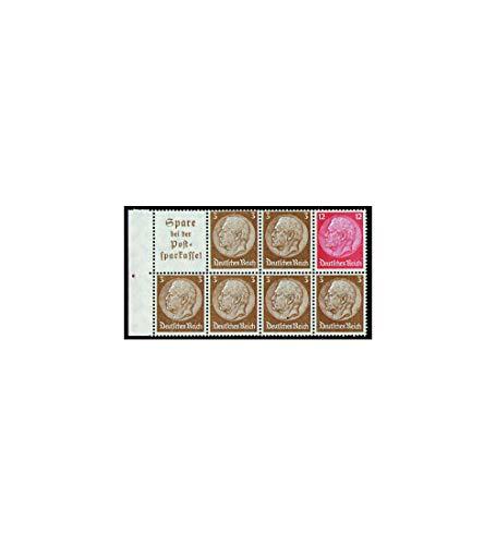 Goldhahn Deutsches Reich Markenheftchenblatt Nr. 94 postfrisch ** Hindenburg A13+3+12 Pfennig Briefmarken für Sammler