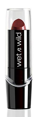 Wet n Wild – Silk Finish Lipstick- Pflegender Lippenstift mit Aloe Vera und Vitamine A und E, Dark Wine, 1 Stk. 3,6g
