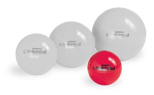 Pezzi Compact Medizinball Rehaball Gewichtsball Fitness Gymnastikball rot 1kg