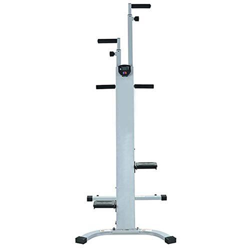 LWH Vertikaler Kletterer,Stepper Vertical Climber,Tragfähigkeit 150KG,98 * 60 * 178CM,Zusammenklappbare Ausführung rutschfeste Füße/4-Positionen-Einstellung/LCD-Anzeige