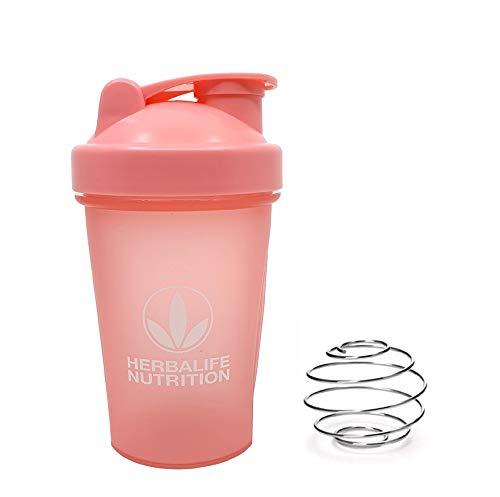 Herbalife Shaker Flasche, 400 ml, Pink