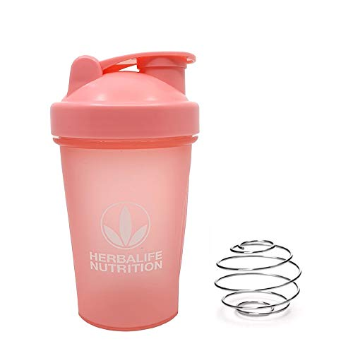 Herbalife Shaker Bottle 13.5-Ounce(400ml) Pink