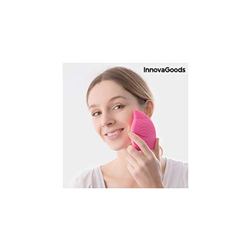 InnovaGoods Masajeador Limpiador Facial Recargable - 1 gr