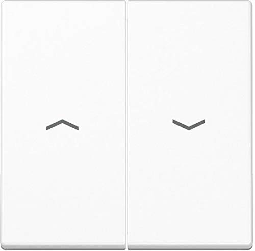 Jung A 595BF P WW weiß Schalter Elektro–Messer Elektro Zubehör (weiß)