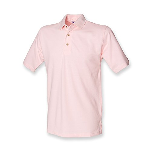 Henbury - Polo - - Polo - Col polo - Manches courtes Homme - Rose - Rose - X-large
