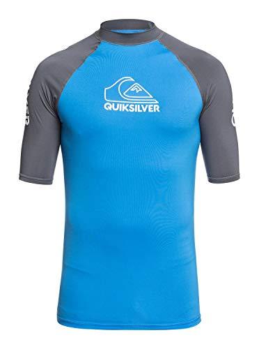 Quiksilver™ on Tour - Lycra Manches Courtes UPF 50 - Homme - XL - Bleu