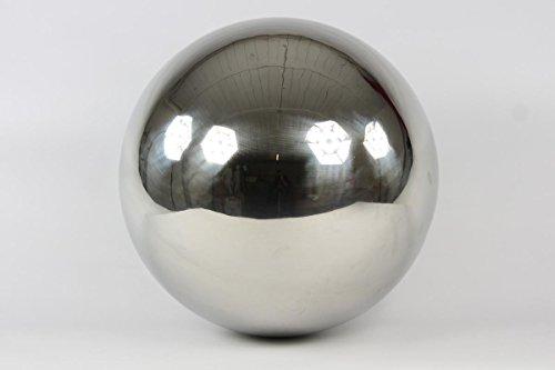 Qubeat 5X Edelstahlkugel Ball poliert 6cm Ø Schwimmkugel Dekoration Rosenkugel