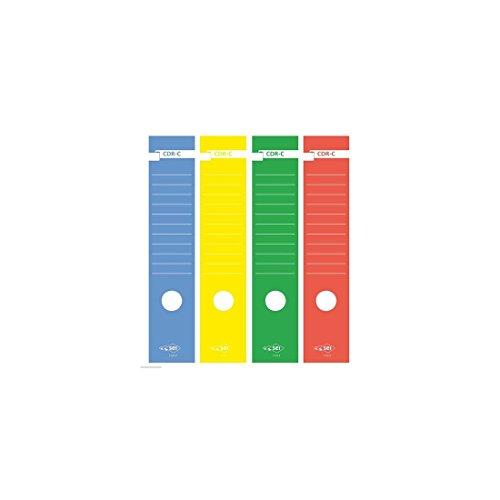 Rug voor Sei Rota 10 Recorder pz. cdr-c Sticker Ruggenlabels Rood 7 X 34,5 cm [58012712]