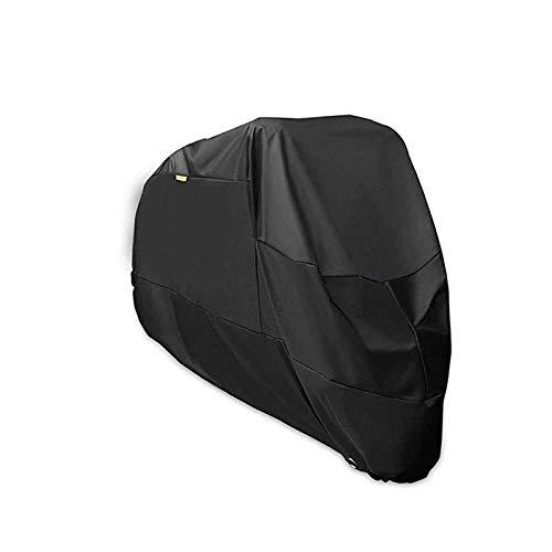 XINTUON Cubiertas de bicicleta al aire libre almacenamiento impermeable cubierta para bicicleta material grande negro proteger la bicicleta fácil de empacar