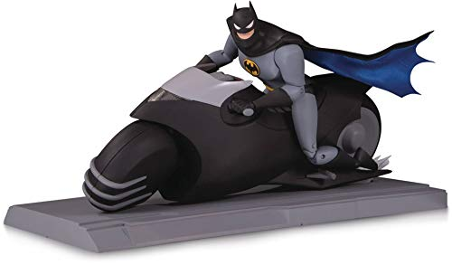 DC Collectibles Batman The Animated Series: Batcycle & Batman Action Figure Set