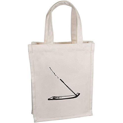 Azeeda \'Räucherstäbchen\' Kleine Premium Canvas Einkaufstasche (BG00038631)