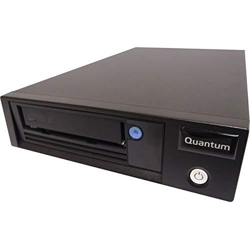 Quantum LTO-7 Tape Drive, Half Height, Tabletop, SAS HBA Bundle, 6Gb/s SAS, Black incl. 1x Data und 1x Cleaning Cartridge und HBA