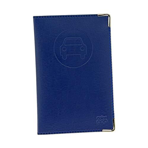 Color Pop 550064 Porte-papiers Véhicule - Nouveau Permis - coloris Bleu Marine