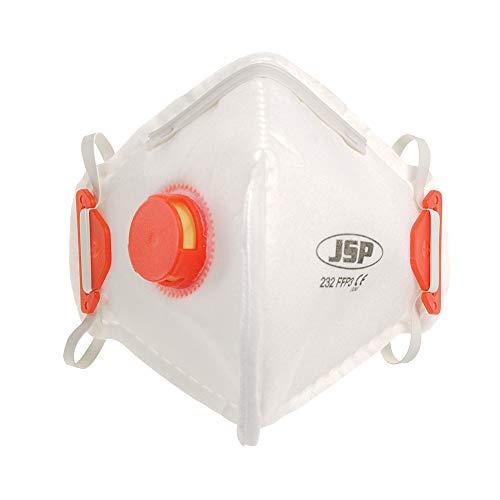 JSP beb130–101-a00gefaltet Einweg Maske, FFP3Ventil (10Stück)