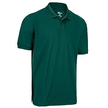 Mens Hunter Green Drifit Polo Shirt XXXL
