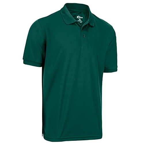 Premium Mens Hunter Green Drifit Polo Shirt XXL
