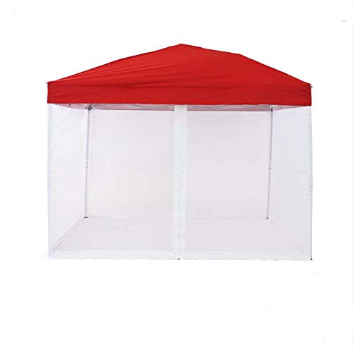 PCAFRS Mosquito Netting with Zipper for Outdoor 10x10 Pop Up Canopy Tent, Canopy Screen Wall for Patio Gazebo Canopy(Only Mosquito Net, Outdoor Tent Not Including)