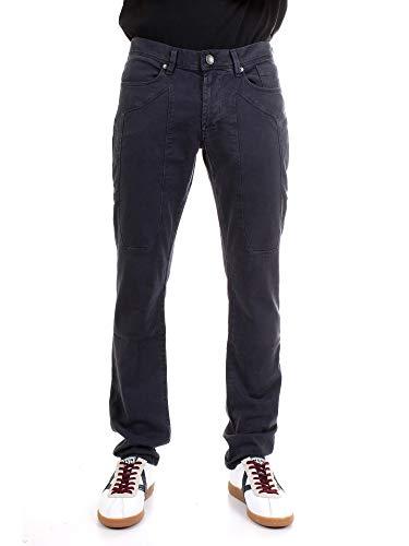 JECKERSON 5Pkts Patch Slim Jeans, Blu 260, 30W Uomo