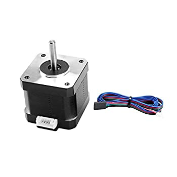 FYSETC 3D Printer Motors Nema 17 Stepper Motor 42-40 Motor 1.5A 2 Phase 4 Wires 1.8 Degree with 39.3 inch Cable for 3D Printer Extruder Y Axis CNC Reprap CR-10 10S Ender 3