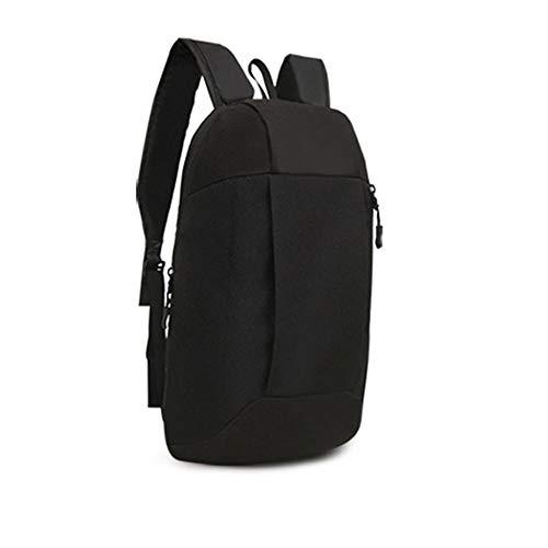 MEIbax Sportrucksack Wandern Rucksack Männer Frauen Unisex Schulranzen Umhängetasche Handtasche Rucksack Handy Taschen (Black)