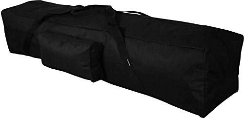 Hekers - Bolsa para tienda de campaña, 120 x 25 x 20 cm, bolsa para accesorios, 33 x 15 x 5 cm, bolsa para toldos, bolsa para varillas, bolsa para estacas, bolsa de arenque