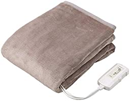 コイズミ 電気毛布 水洗い可能