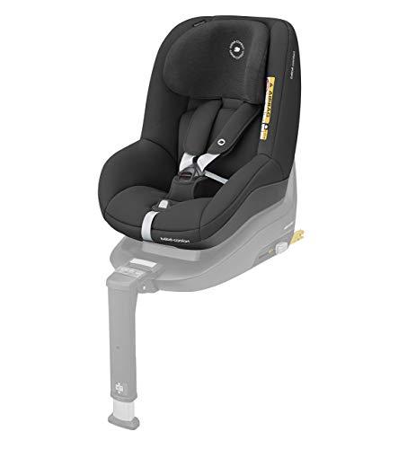 Bébé Confort Pearl Smart i-Size, Siège auto Groupe 1, Installation dos route et face route, De 6 mois à 4 ans (9-18 kg), Authentic Black