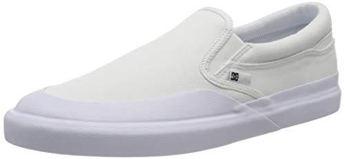DC Shoes DC Infinite Slip-on, Zapatillas Hombre, White White White, 44 EU