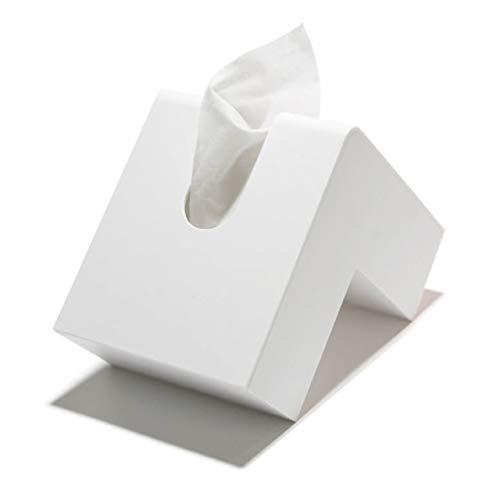 アッシュコンセプト プラスディー フォリオ ティッシュケース ホワイト 1コ入