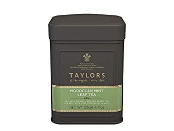 Taylors of Harrogate Moroccan Mint Green Tea Loose Leaf 4.41 Ounce Tin