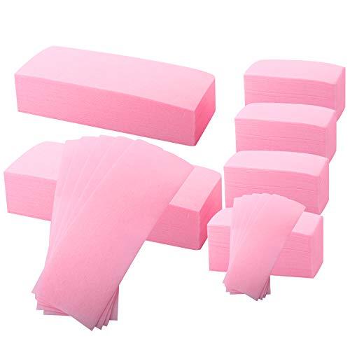 BQTQ 600 Stück Vliesstreifen Haarentfernung Wachsstreifen Waxing Wachsstreifen Papier Wachs Streifen