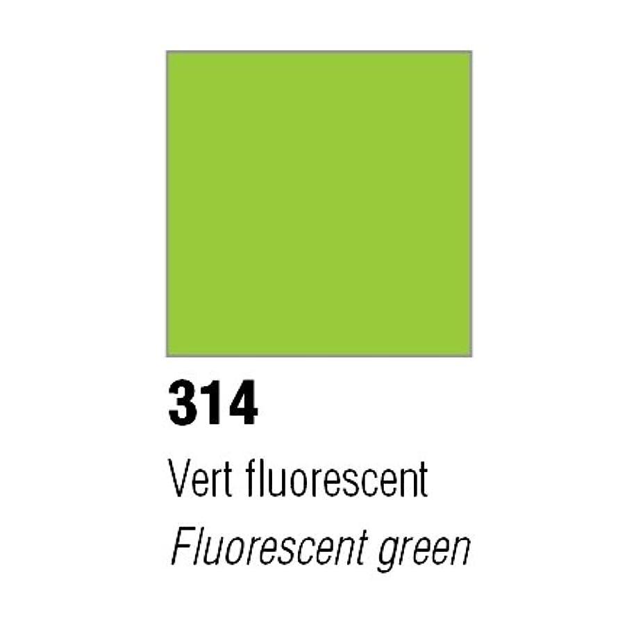 Pebeo Mat Pub 1kg Pot Fluo Green
