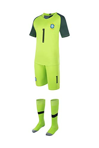 Equipe de FRANCE de Football - Maglietta della Collezione ufficiale della Nazionale di calcio francese FFF, del giocatore Kylian Mbappe, Taglia per bambino/ ragazzo, Bambina, blu, 12 anni