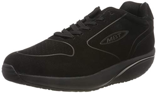 MBT Damen Mbt-1997 Nubuck W Black/39 Sneakers, Schwarz (Black 03u), 39 EU