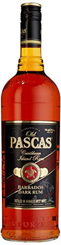 Old Pascas Barbados Dark Rum, 1er Pack (1 x 1000 ml)